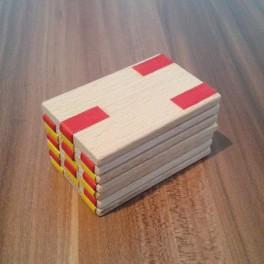 Dřevěná skládačka