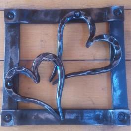 Kovaný obraz srdce